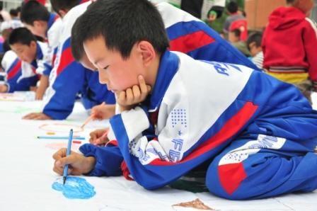 """我的美丽中国梦""""少年儿童"""