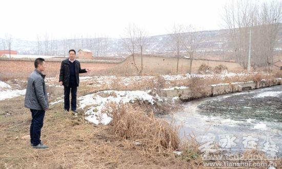 天水清水县治理污染源头提升环境质量