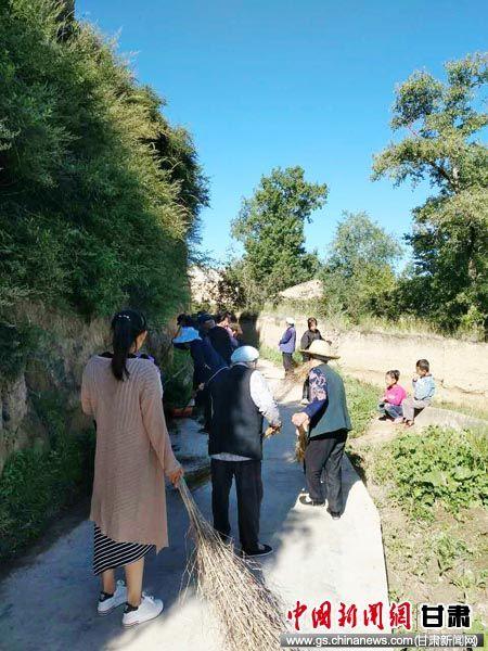 岷县乡镇全民齐动员 开展全域无垃圾乡镇创建