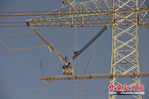 哈密南至郑州±800千伏特高压直流输电线路工程是