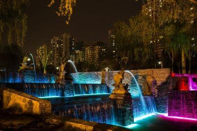 手工制作竹子喷泉