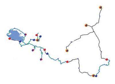 途经青海的西宁市,多巴镇,大通县,互助县,西海镇,青海湖景区,贵德县